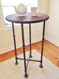 small high top table high top table table cocktail table handmade table high top