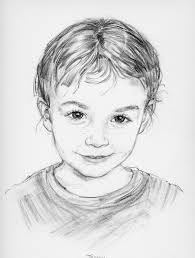gallery easy pencil sketches of face drawings art gallery