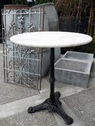 Edison Bistro Table French Marble Bistro Table Coffee Shop Design Pinterest
