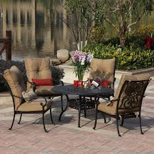 Patio Dining Set Cover by Beautiful Lowes Patio Dining Sets 13 On Home Depot Patio Furniture