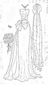 fashion design coloring pages tamponnades 8819 paper art pinterest coloring