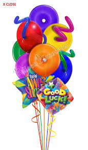luck balloon delivery luck lifesavers balloon bouquet 9 balloons balloon delivery