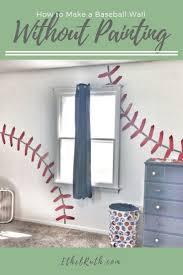 best 25 baseball wall ideas on pinterest boys baseball bedroom