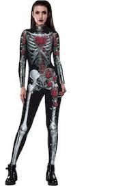 Womens Skeleton Costume Women U0027s Skeleton And Roses Costume Closet Refill