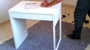 Micke Desk Ikea Review Bureau Micke My Desk Vanity From Ikea Review 5 Maxresdefault Jpg