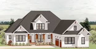country craftsman house plans country craftsman house plan with optional second floor 46325la