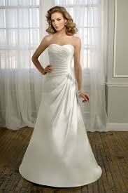 wedding dress for sale sweetheart satyin ruching simple designer cheap casual wedding