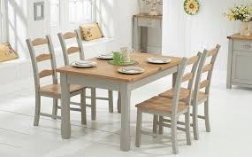 Extendable Dining Table Set Sale Surprising Painted Oak Dining Table And Chairs Cottage Small