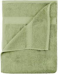 Forest Green Bathroom Rugs by Amazon Com Premium 8 Piece Towel Set Sage Green 2 Bath Towels