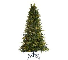 bethlehem lights 7 5 prelit noble spruce tree w multi functions