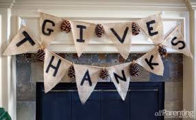 how to make a thanksgiving garland