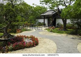 white rock garden stock images royalty free images u0026 vectors