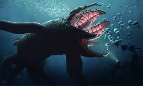 digital art animals nature sea underwater sea monsters fish