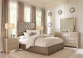 5 pc queen bedroom set paris gray 5 pc queen bedroom upholstered contemporary