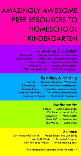 reading curriculum for kindergarten best 25 kindergarten homeschool curriculum ideas on