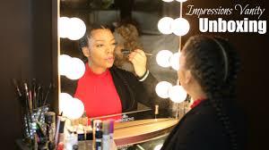 Vanity Company Impressions Vanity Mirror Unboxing Youtube