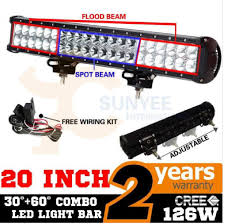 install sunyee cree 126w light bar sg ii forester