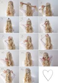 ideas about wedding tutorials cute hairstyles for girls
