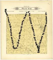 Plat Maps West Oak Lancaster County Nebraska Name Followed By Section