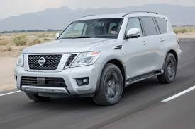 nissan armada rear bumper 2017 nissan armada platinum first test review motor trend