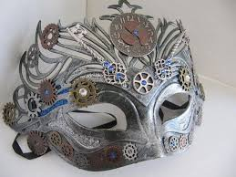 mardi mask 10 best masks steunk images on