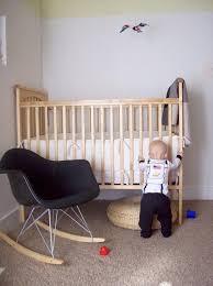 Modern Nursery Rocking Chair Modern Nursery Classic The Eames Rocker Apartment Therapy