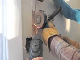making way for wire in a plaster brick wall youtube