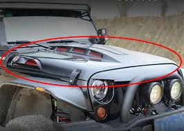 buy jeep wrangler parts avenger style vehicle spare parts with functional vents for