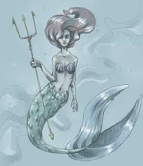 ariel mermaid sketch ameza deviantart