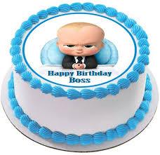 The Boss Baby Edible Cake Topper U0026 Cupcake Toppers U2013 Edible Prints