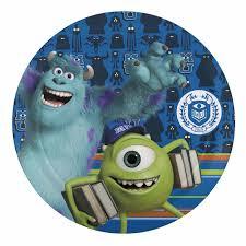 monsters university kids plates sale mike wazowski u0026 sully