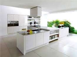 contemporary kitchens with white cabinets