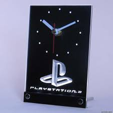 playstation help desk number tnc0193 playstation ps3 game room table desk 3d led clock in wall