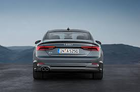 audi a5 top speed 2017 audi a5 sportback and s5 sportback shown at autocar