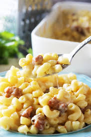 gourmet pork belly macaroni and cheese