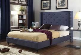 luxury king upholstered platform bed best king upholstered