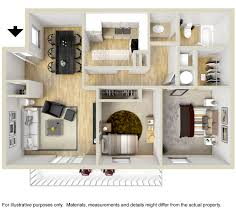Floor Plans With Furniture Floorplans U0026 Pricing Summerfield Place Schatten Properties