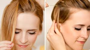 Hairstyles Easy And Quick by Easy Hairstyle For Front Hair Best Hairstyle Photos On Pinmyhair Com
