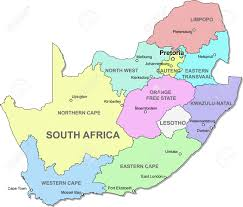 Map South Africa South Africa Map Royalty Free Cliparts Vectors And Stock