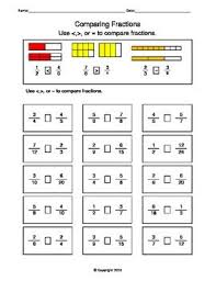 21 best maths images on pinterest math fractions comparing