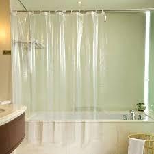 Bathroom Plastic Curtains Plastic Shower Curtains Codingslime Me