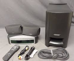 bose speakers home theater bose av3 2 1 321 series i dvd home theater system 3 2 1 speakers
