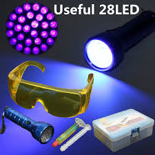 safety glasses for led lights 28 led flashlight fluorescent refrigerant leak detection uv light