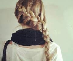 hair braid across back of head french braid across back of head natalie pinterest french