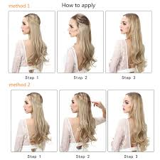 how to cut halo hair extensions online shop sarla 10pcs lot 20 synthetic halo hair extensions