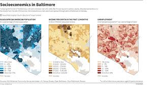 Map Of Western Suburbs Of Chicago by These Maps Show The Depth Of Baltimore U0027s Inequality Problem