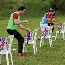 Backyard Olympic Games For Adults Sports Day Egg And Spoon Race To See More Visit Http
