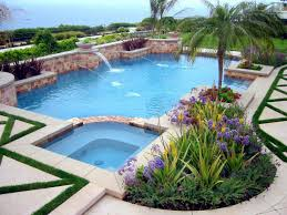 Tropical Backyard Designs Backyard Design Tropical Landscaping Ideas Around Pool