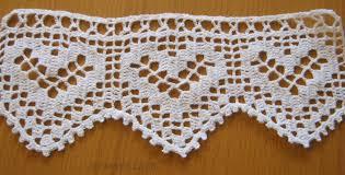 lace home decor handmade lace crochet trim lovely hearts crochet