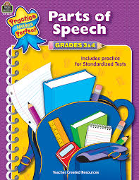 parts of speech grades 3 4 tcr3339 teacher created resources